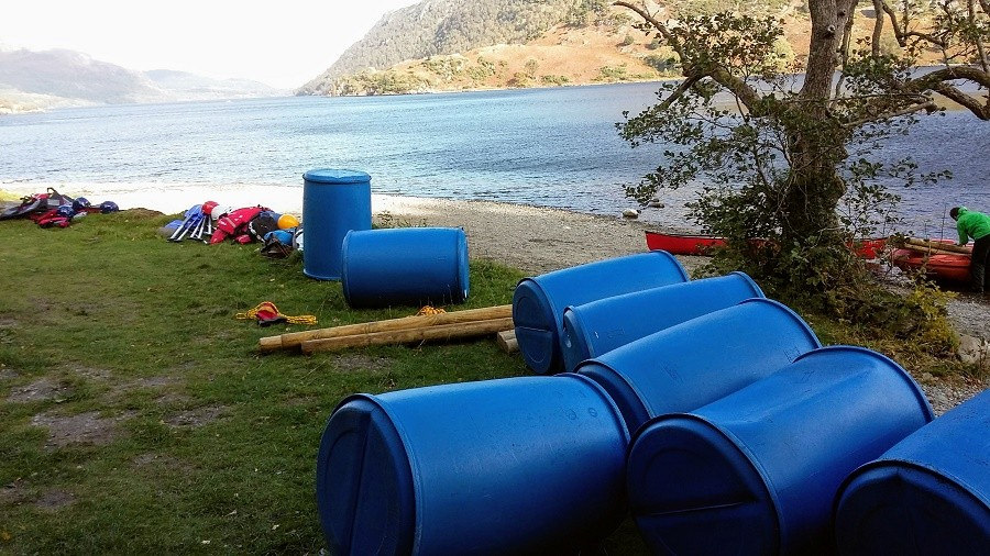 Raft Building Equipment